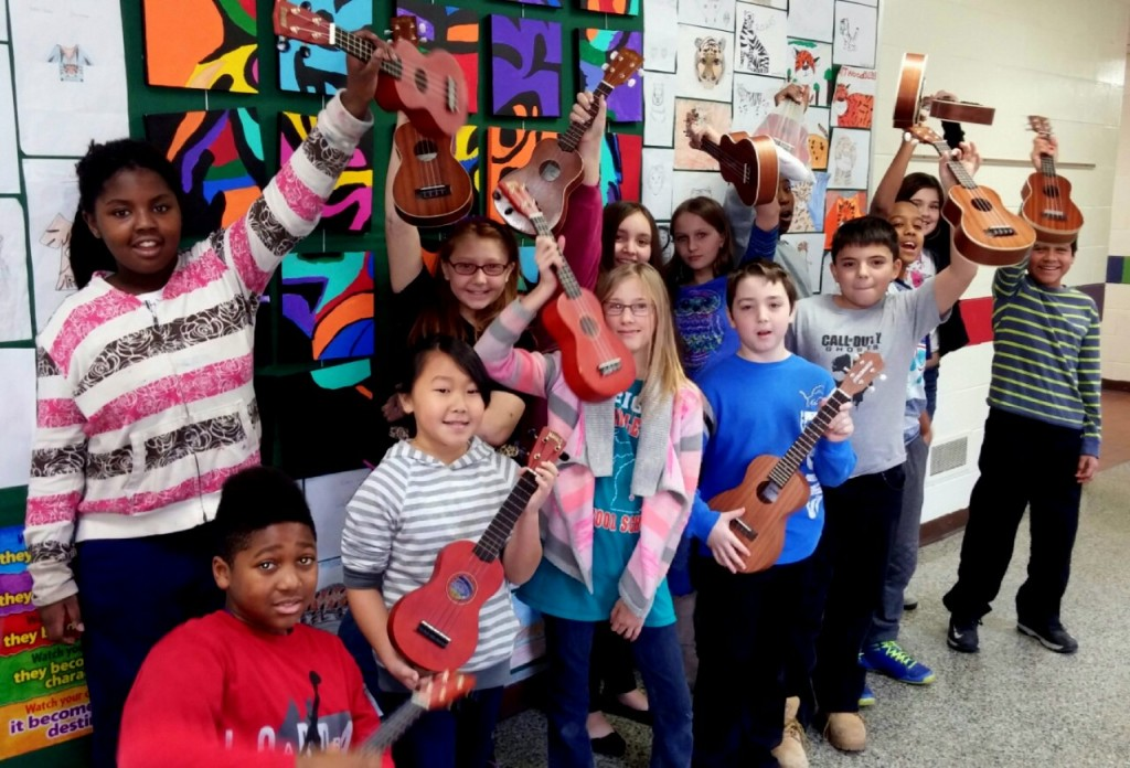 ukes in the air December 2014